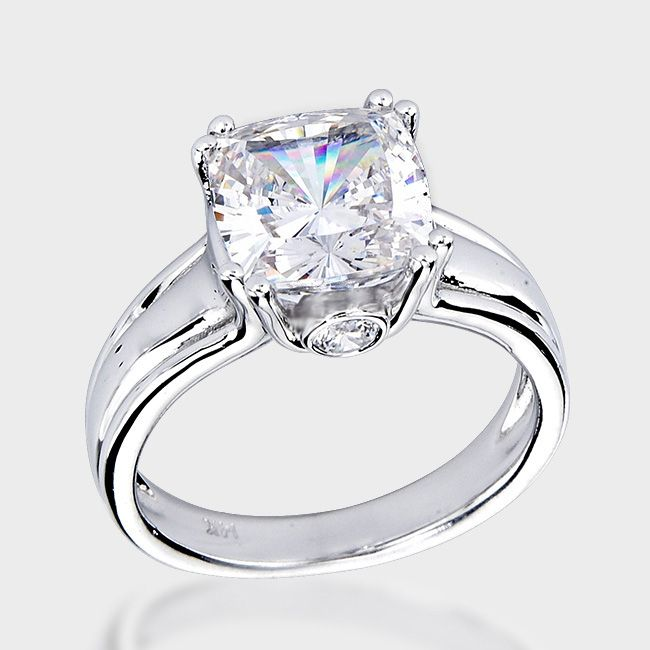 1000 images about Cushion Cut Engagement Rings Under $1000 on Pinterest