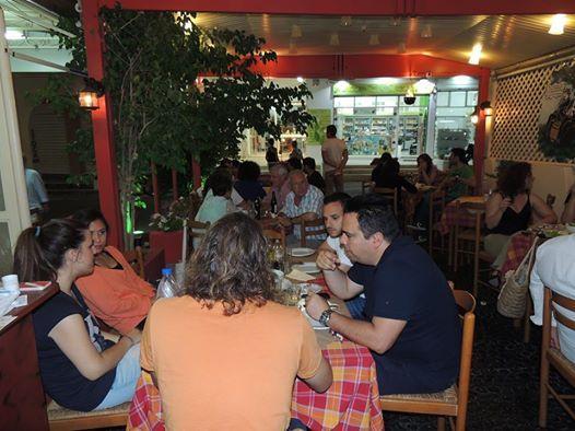 Visit me in my restuarant Rakomelo in Santorini