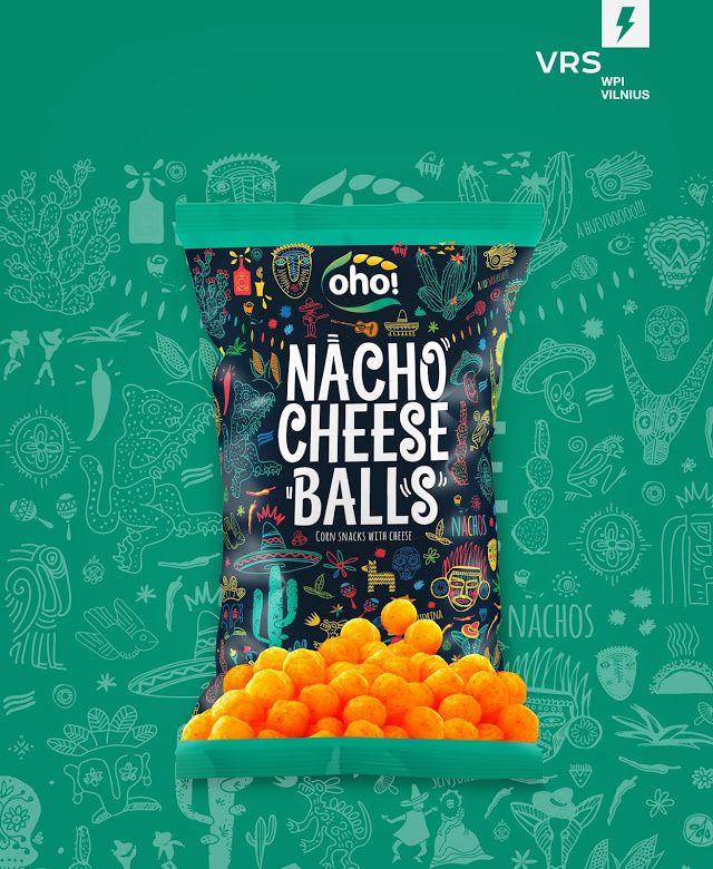 Oho! Balls & Sticks in Packaging Design