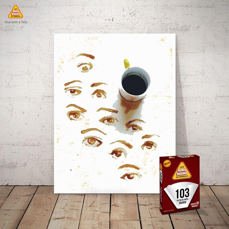 Acorda, toma um café passado na hora, penteia esse cabelo e saiba que você não precisa de mais ninguém para ser feliz. O mundo é seu.;)  👉 http://cafeouronegro.com.br/vivabemefeliz  #filtreoqueébom #café #caféouronegro #vivabemefeliz