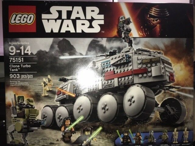 NEW Factory sealed! LEGO Star Wars 75151 Clone Turbo Tank