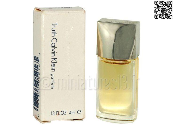 Miniature Truth (Parfum 4ml), Calvin Klein - © www.miniatures13.fr