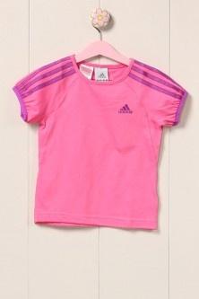 Adidas Lg Et Tee T-Shirt Pembe
