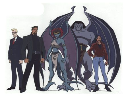 gargoyles tv show | Displaying (14) Gallery Images For Gargoyles Tv Show...