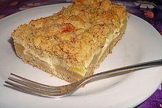 Apfel - Nuss - Streusel mit Quarkcreme, ein beliebtes Rezept aus der Kategorie Kuchen. Bewertungen: 88. Durchschnitt: Ø 4,4.