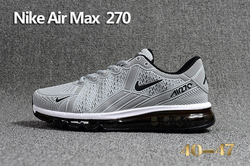 6e138d72d8 NIKE AIR MAX 270 Gray Black 40-47-10201246 Whatsapp:86 17097508495 ...