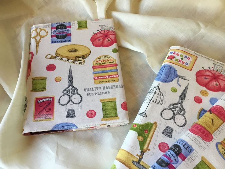 Fabric covered notebooks/ sketchbook/ art book by Buttons2uyorkshire on Etsy