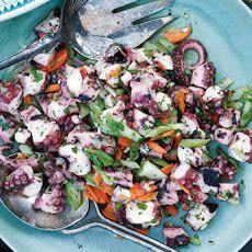 Octopus Salad Recipe #healthy #yummy #seafood