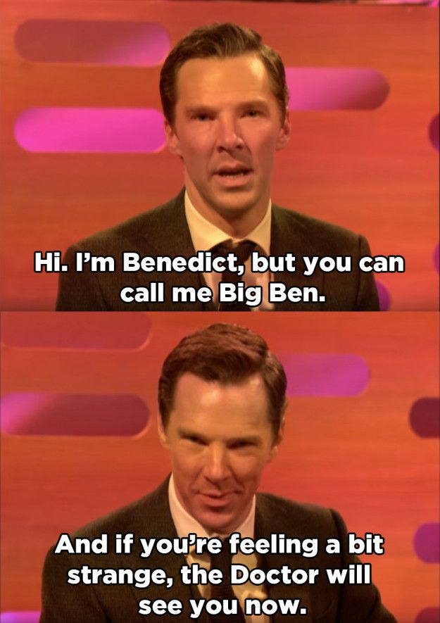 But Benedict definitely stole the show with not one but TWO WHOLE PUNS. | Benedict Cumberbatch And Eddie Redmayne Made Hilarious Dating Profiles