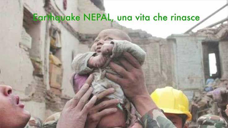 Nepal: Video racconto della tragedia. Salvate due donne e un ragazzo. Neonato immagine simbolo del sisma
