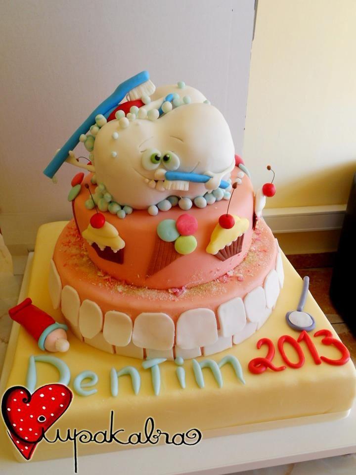 Tooth cake!  Follow Phan Dental Today! https://www.facebook.com/phandentalyeg https://twitter.com/PhanDental