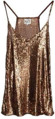 ShopStyle: Millie SEQUIN CAMI