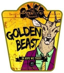 Two Crafty Brewers Golden Beast
