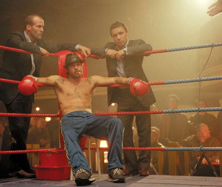 Jason Statham, Brad Pitt and Stephen Graham in