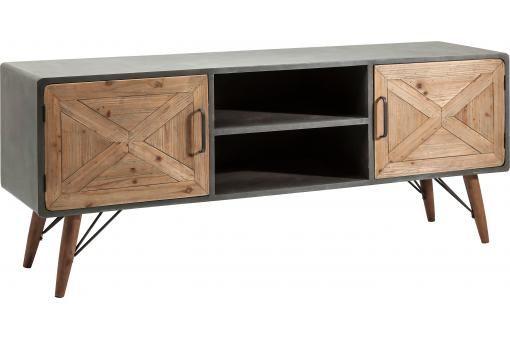 Bahut bas X Factory 2 portes Kare Design pas cher prix Bahut Declikdeco 627.50 €