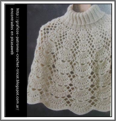 Tejidos a crochet ganchillo patrones ponchos tejidos - Patrones de ganchillo ...