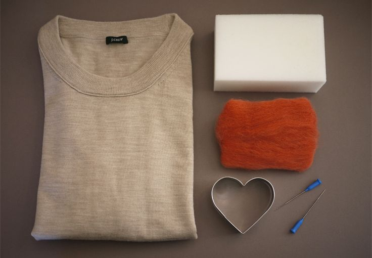 wool duh: Diy Heart, Diy'S, Elbow Patches, Heart Elbow, Needle Felting, Craft Ideas, Diy Projects, Crafts