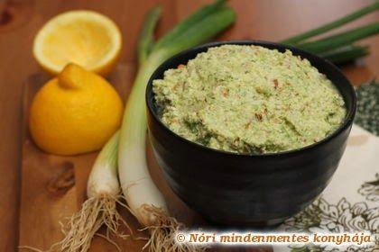 Nóri mindenmentes konyhája: Tavaszi zöld kence (nyers, vegán szendvicskrém)