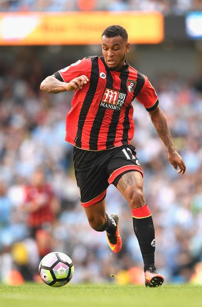 Joshua King of AFC Bournemouth in action during the Premier League match between…