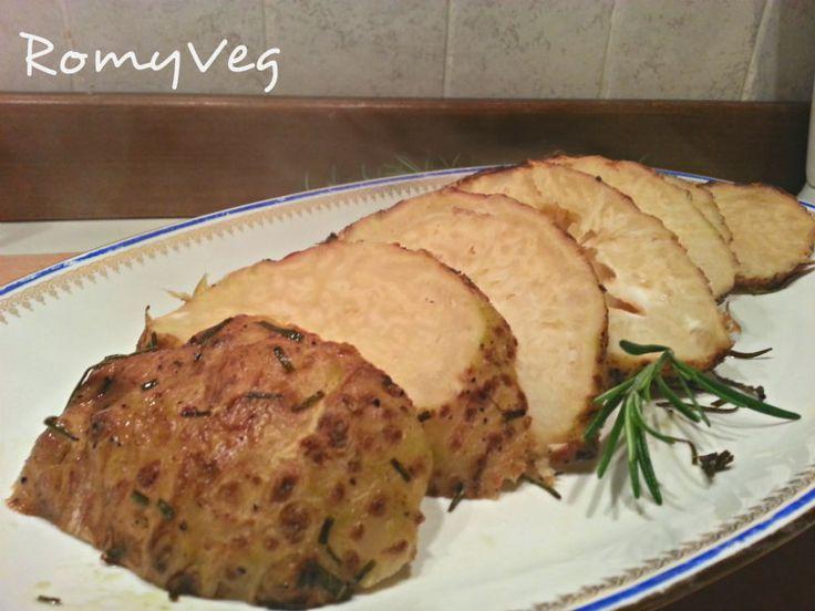 La mia Cucina Veg: Jamie Oliver Zombie Brain: arrosto di sedano rapa