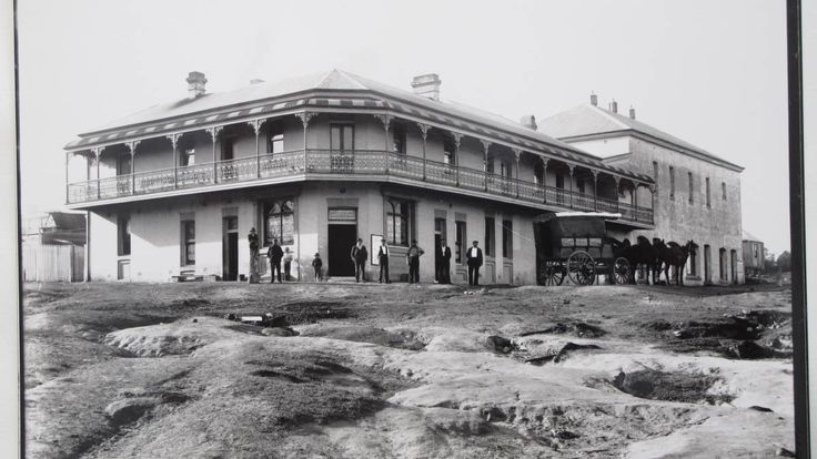 Museum Hotel at West Wallsend,New South Wales in 1900. 🌹