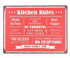 Decoratiune de perete Kitchen Rules