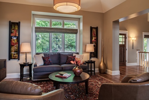 Urban organic hgtv sherwin williams collection khaki for Sherwin williams paint ideas for living room