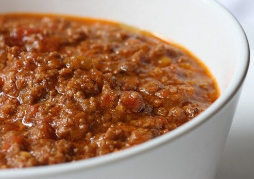 My version of a delicious and authentic bolognese ragù (bolognese sauce)