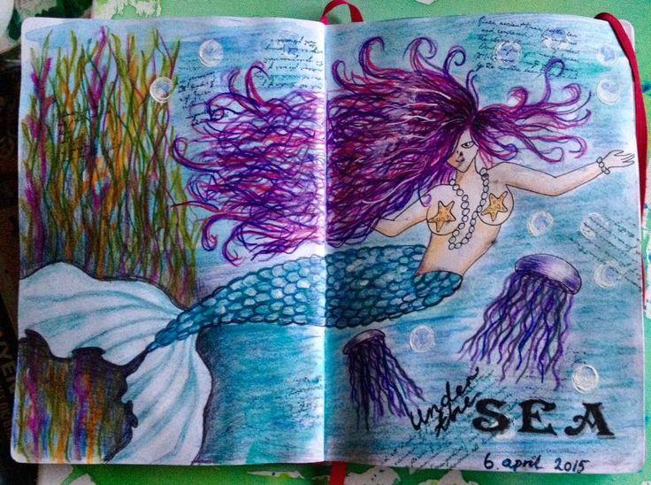 Art Journal # 8 Under the sea