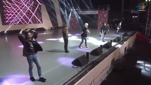 280916 Cheonan World Dance Festival - Excuse Me cut 2.  Rocking it like its their concert 🔥🔥🔥🔥🔥 #bap #bestabsoluteperfect #bangyongguk #kimhimchan #jungdaehyun #yooyoungjae #moonjongup #zelo  Cr Memory lane