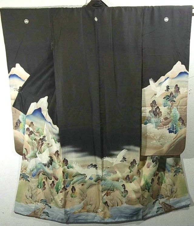 Furisode #332284 Kimono Flea Market ICHIROYA