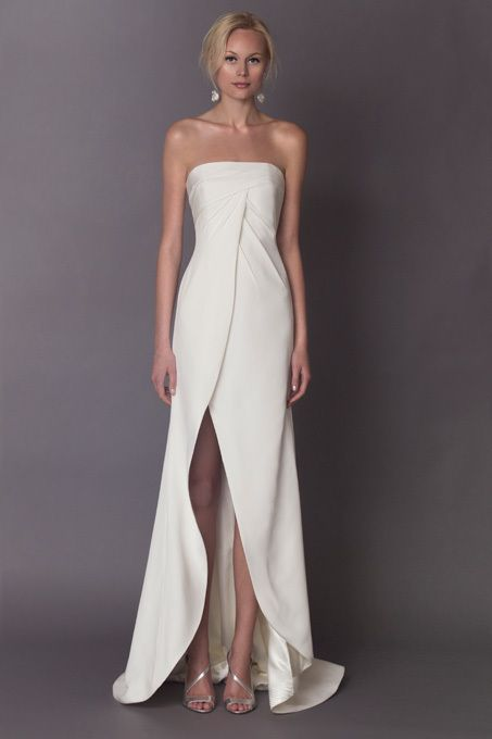 Best 25+ Minimal wedding dress ideas on Pinterest | Minimalist ...