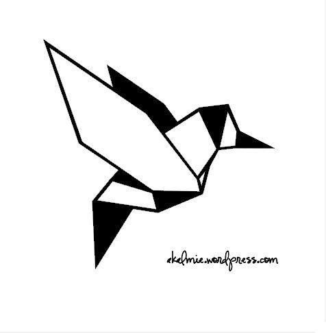 Les 21 meilleures images du tableau animaux origami dessin sur pinterest dessins animaux et - Oiseau mouche dessin ...