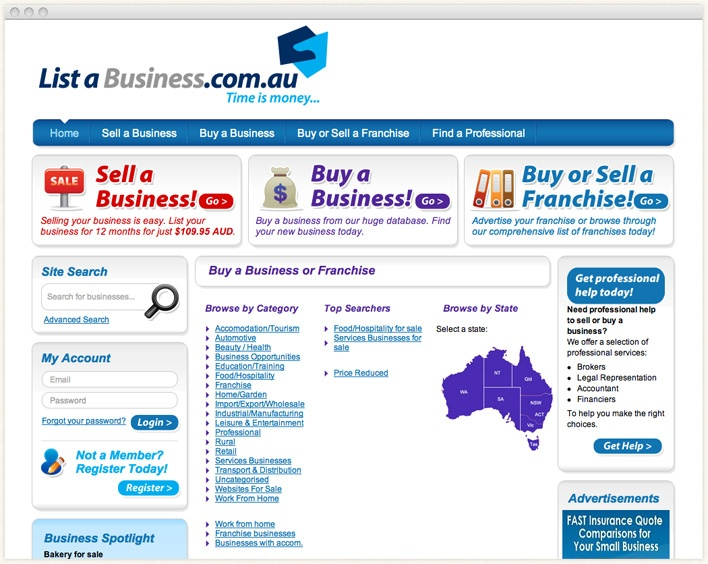 how to sell a business australian business