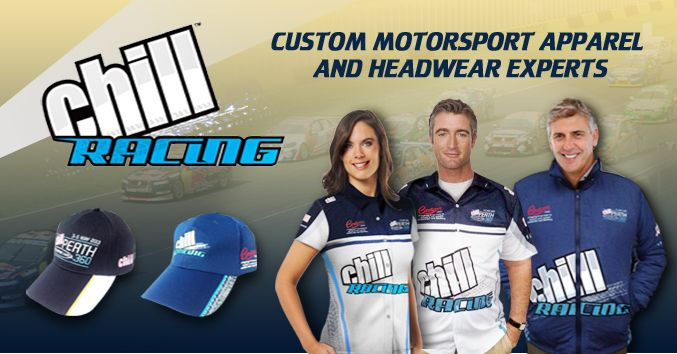 Motorsports Custom Sportswear | Sublimated Racing Apparel | Captivations Sportswear | Custom sportswear and apparel supplier