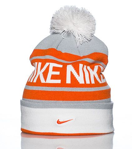 NIKE Winter beanie Pom pom detail on top NIKE marquee logos throughout Lightweig…