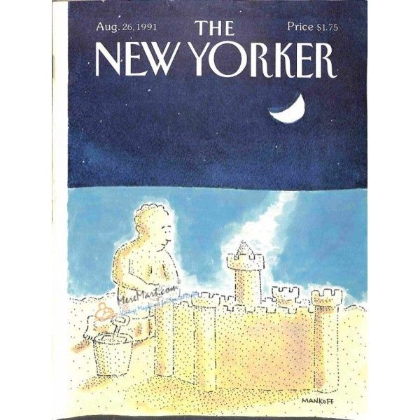 Cover Print of New Yorker, August 26 1991 | $6.60
