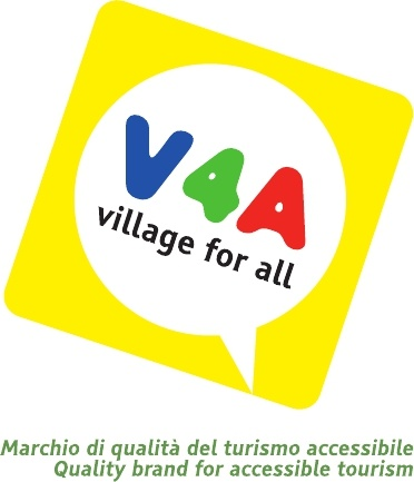 Village for all – V4A® is the international quality brand for accessible tourism that guarantees through the information disclosed to persons with disabilities (limited mobility or temporary), families with small children, elderlies, people with allergies/intolerances, diabetes, obese people with sensory limitations (deaf and blind) and dialysis, the choose where to spend their holidays.  Village for all – V4A® first network of tourist facilities accessible to people with disabilities.