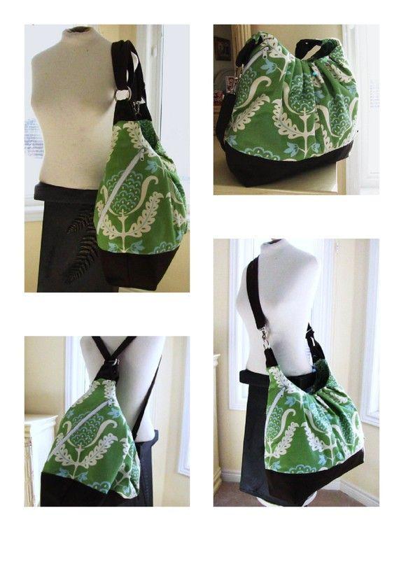 Convertable messenger bag/backpack!