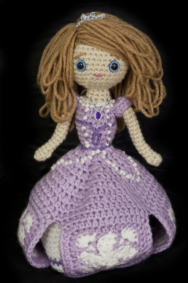193 best knitting images on pinterest crochet ideas crochet princess sofia the first fandeluxe Image collections