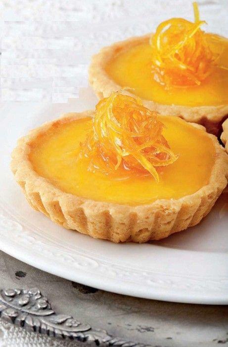 Тарталетки с апельсиновым кремом — Кулинарная книга ...