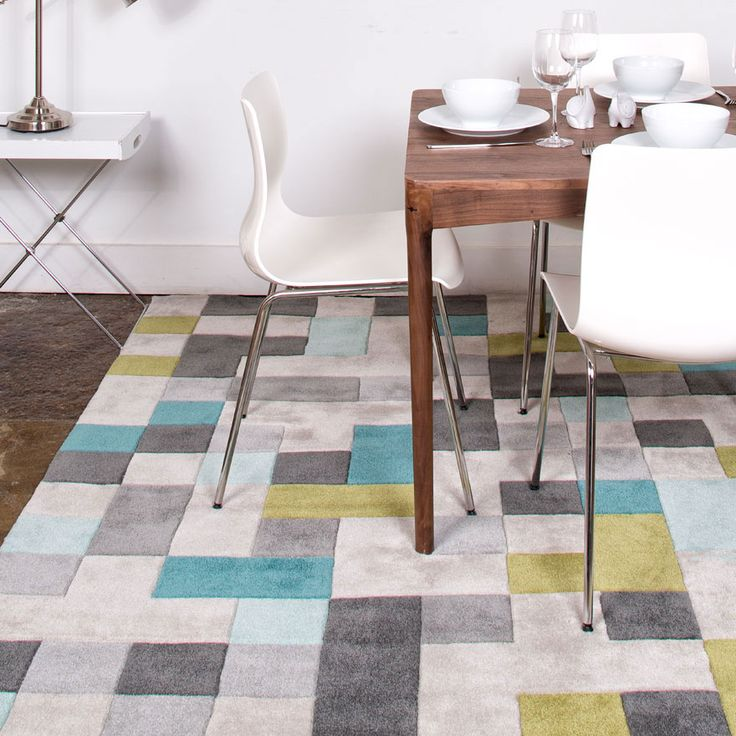 Add The Pixel Palette Rug To Any Room In Your Home That Could Use A Pop Of Color Or Style Hand Tufted China This Offers Quality Without Forsaking