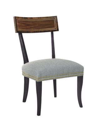 Blix Side Chair from the Alexa Hampton® collection by Hickory Chair Furniture Co.