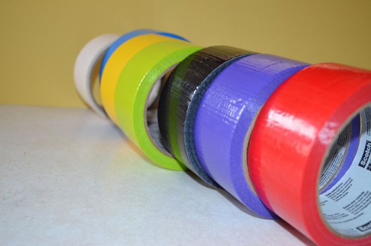 Duct Tape Kids Crafts: Colorful Box Masks