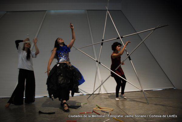 Exploración actoral en dialogo con las piezas de Arte Povera en el MUAC