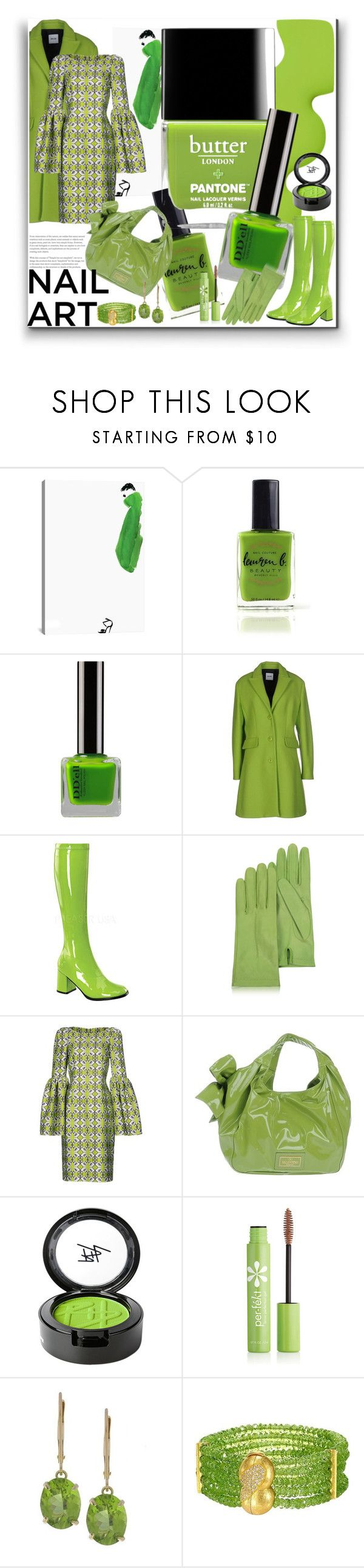 """""""Nail Edit"""" by marionmeyer ❤ liked on Polyvore featuring beauty, iCanvas, Lauren B. Beauty, Butter London, Moschino Cheap & Chic, Funtasma, Forzieri, Thomas Wylde, Valentino and Beauty Is Life"""