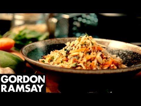 Green Papaya Salad - Gordon Ramsay - YouTube
