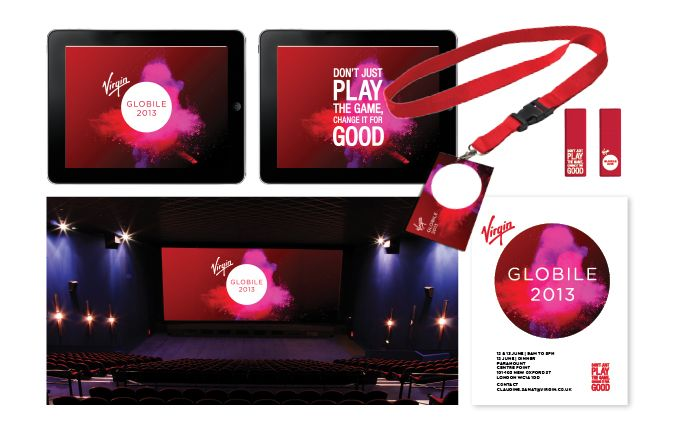 Virgin Mobile Global Conference Identity – Globile 2013 #VirginMobileAus