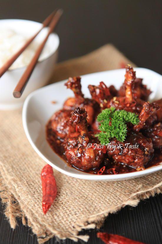 Resep Sayap Ayam Lolipop dengan Saus Pedas JTT