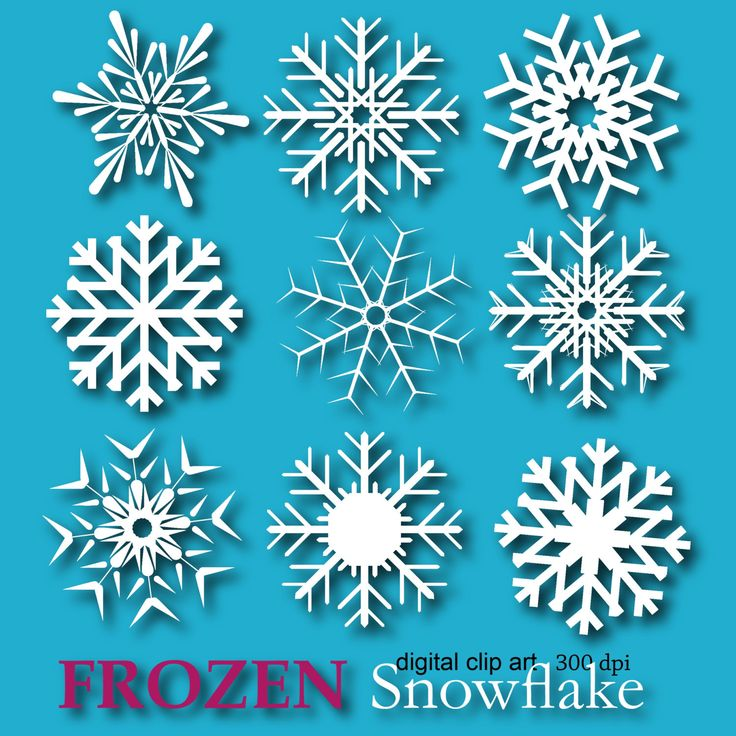 snowflakes from frozen - Google Search